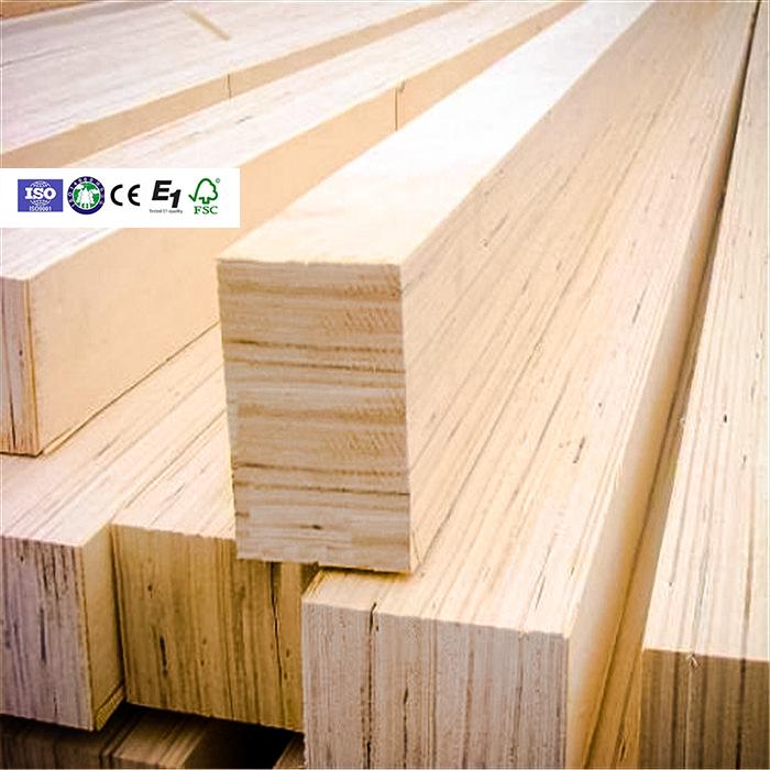 Laminated veneer lumber construction / LVL I beam Wood /bed slats lvl