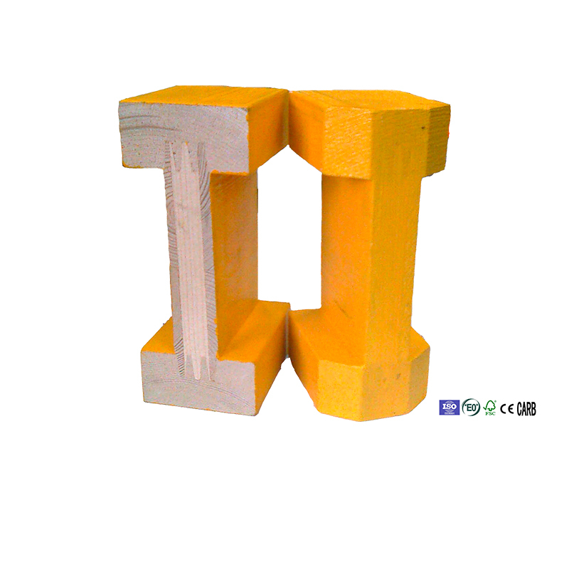 shanghai qinge h20 wood beam timber and lumber with plastic for formwork