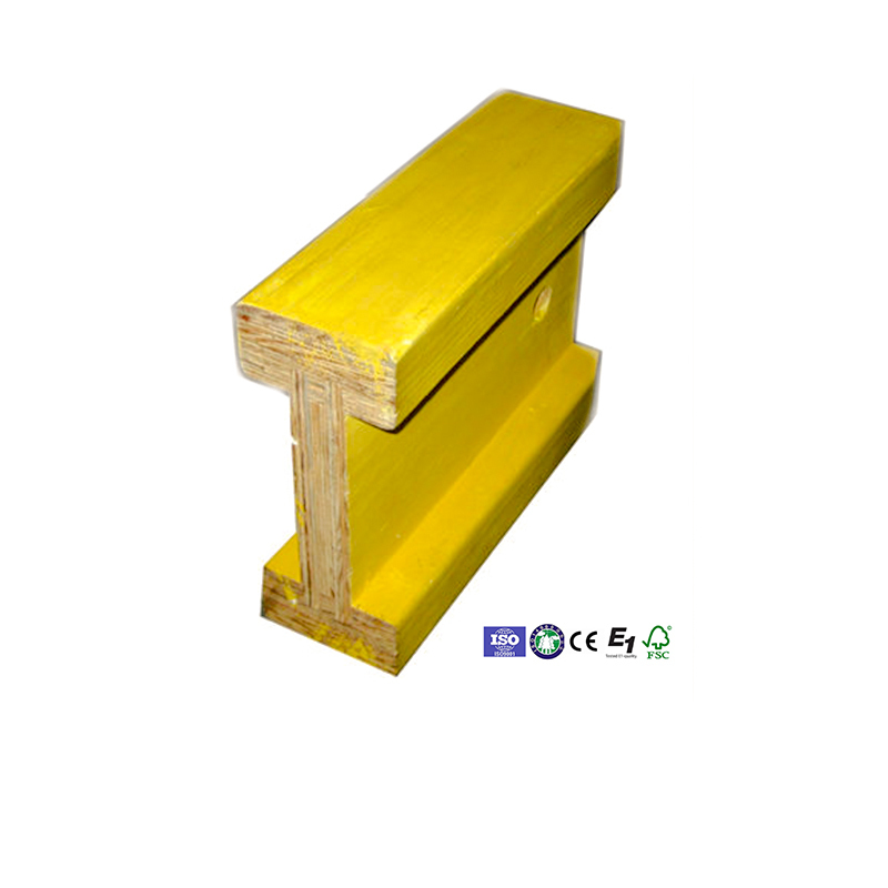 yellow wooden construction h20 beam for framing