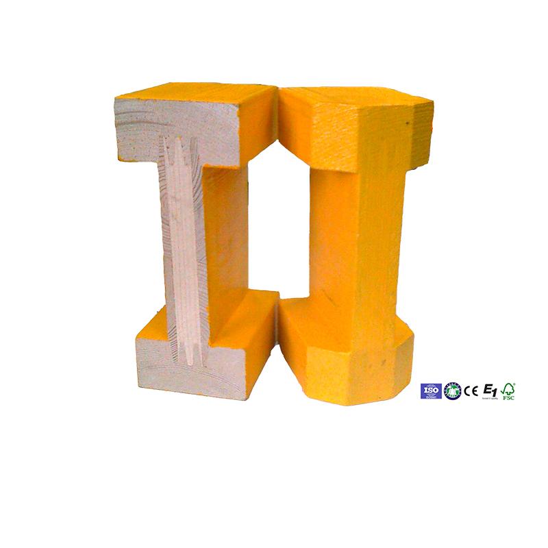 fir slab wooden H20 Beam with EN13377 standard