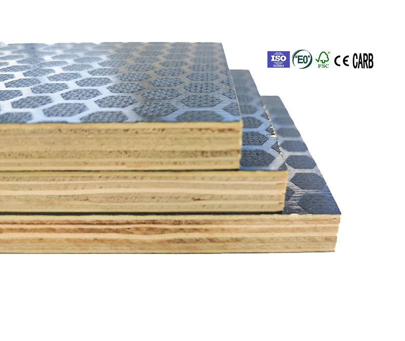 12mm korean standard anti slip brown film faced plywood