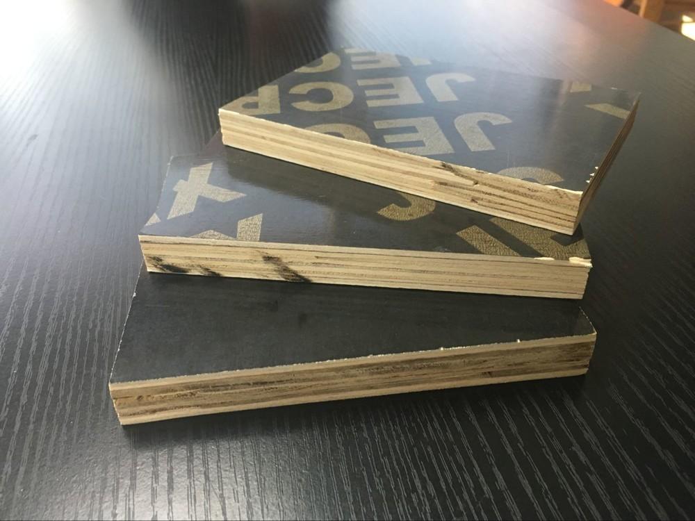 15mm black film faced marine plywood / construction plywood for saudi arabia
