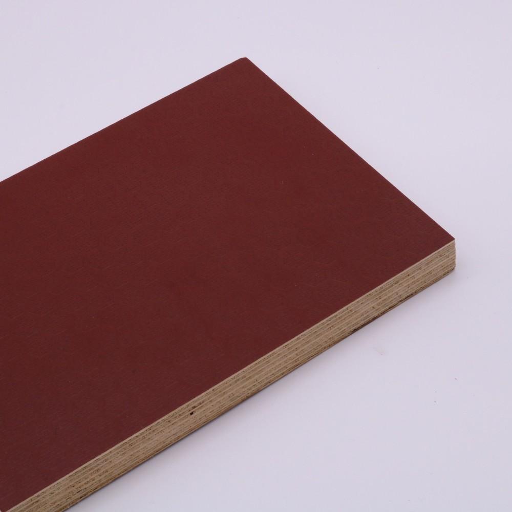 high quality anti slip green plastic film faced plywood