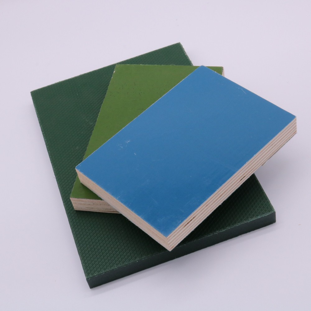 18mm 2 times sanding pvc film faced plywood for real estate building to saudi arabia