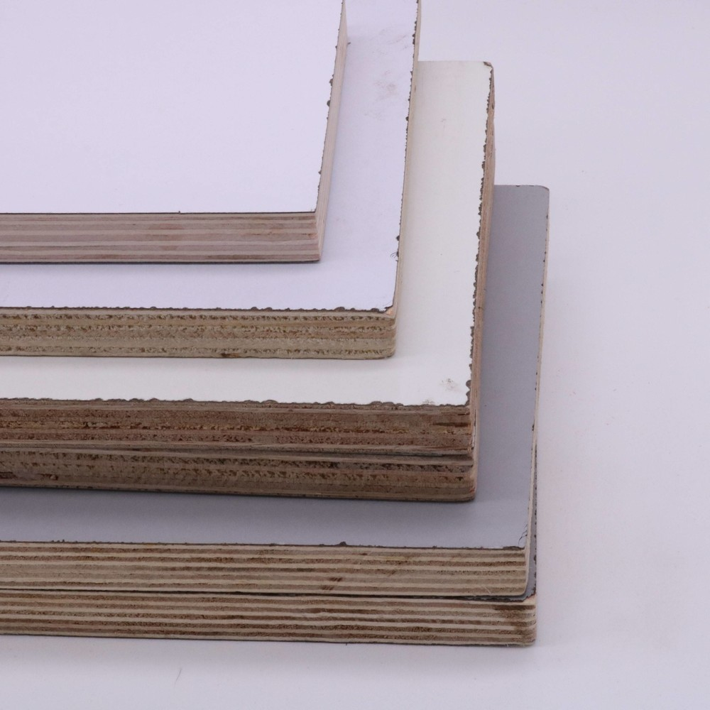 Chinese origin MDO paper film faced plywood used for structural siding