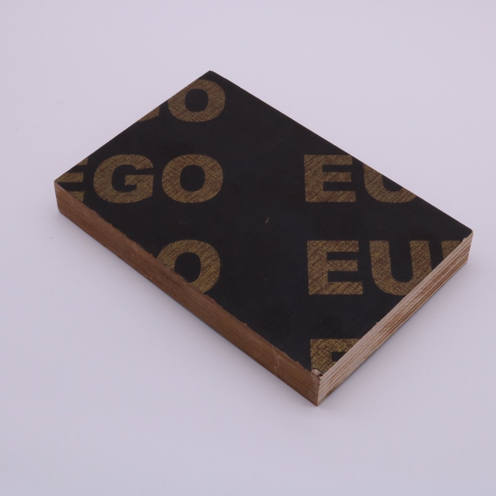 high quality brown poplar film faced plywood or black film faced 18mm for concrete formwork
