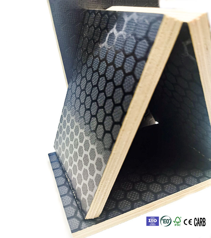 anti-slip marine plywood for outdoor decking truck railway carriage