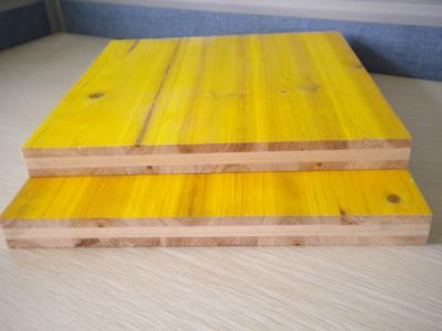 27MM 2000X500MM PINE FIR SPRUCE CORE MELAMINE GLUE WBP 3 ply yellow shuttering plywood panel for concrete formwork