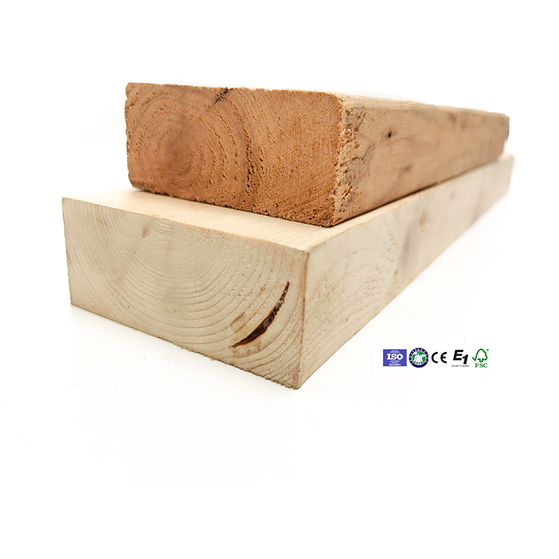 2x4x16 soft wood timber for outdoor decking flooring in garden and land scape