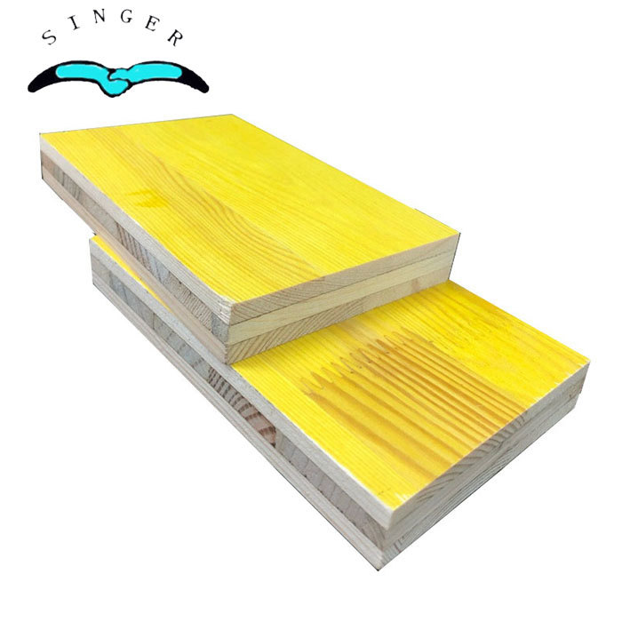 21mm and 27mm yellow pine core phenolic three ply shuttering panel