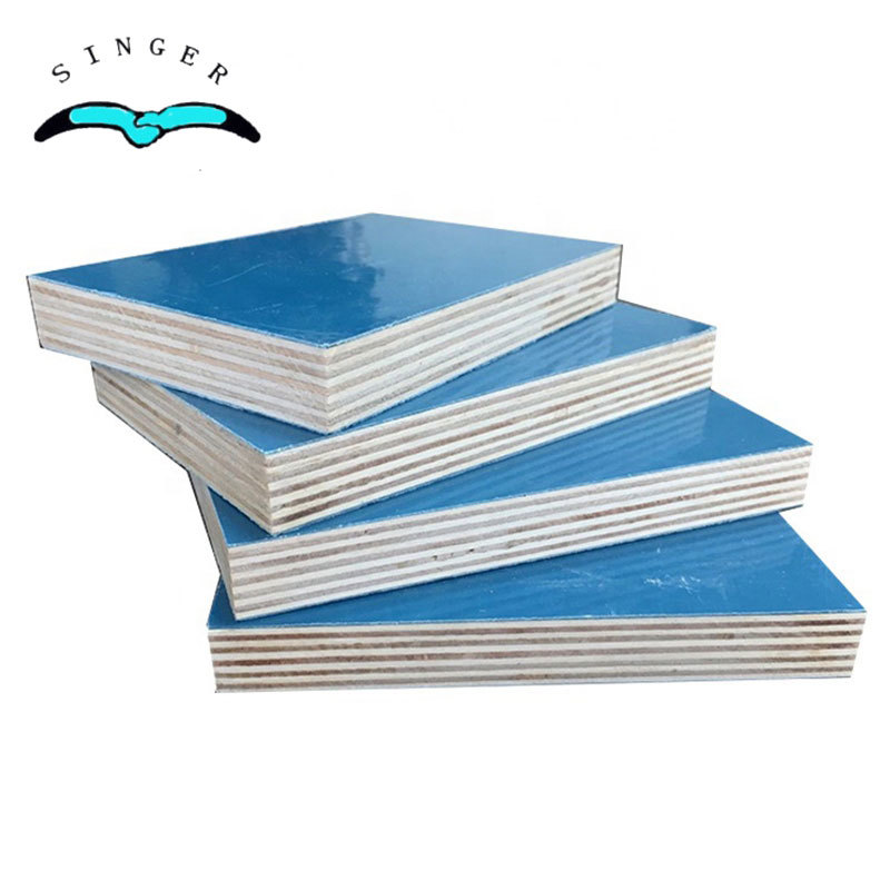 4x8 plastic pvc coated plywood sheets waterproof for concrete formwork