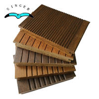Outdoor Use Strand Woven Matt Finish carbonized bamboo in yacht decking For Swimming Pool